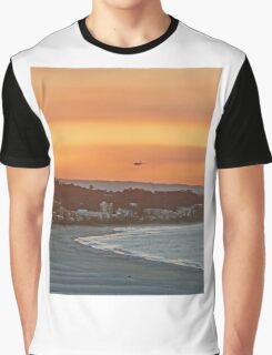 Golden Gold Coast Arrival Graphic T-Shirt