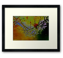 Nature of ICE in COLOR 1 Framed Print