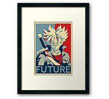 Future Trunks  Framed Print