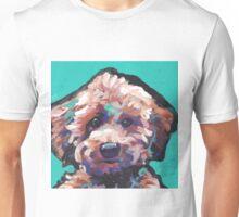 Toy Poodle Dog Bright colorful pop dog art Unisex T-Shirt