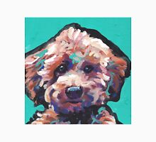 Toy Poodle Dog Bright colorful pop dog art Unisex T-Shirt