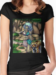Tribal Girl Women's Fitted Scoop T-Shirt