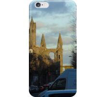 the cathedral ruins taken from south st saint andrews iPhone Case/Skin