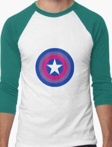 Captain Bisexual Men's Baseball ¾ T-Shirt