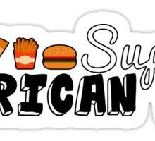 Supreme American Yum - USA Fast Food Sticker