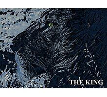The King Blue Photographic Print