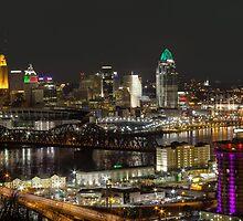 Cincinnati from Devou by Ty Helton