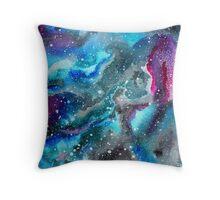 Astro-Watercolor I Throw Pillow