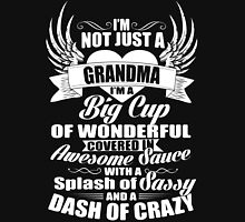 I'm not just a Grandma Women's Fitted Scoop T-Shirt