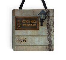 Faculty of Law - Santiago Tote Bag