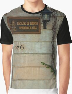 Faculty of Law - Santiago Graphic T-Shirt