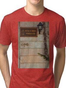 Faculty of Law - Santiago Tri-blend T-Shirt