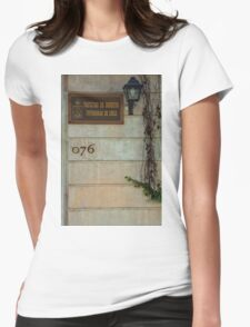 Faculty of Law - Santiago Womens Fitted T-Shirt