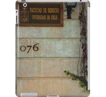 Faculty of Law - Santiago iPad Case/Skin