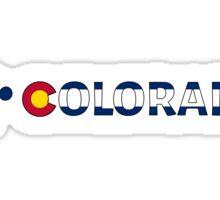 I dirt bike Colorado Sticker