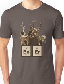 Chemistry bear discovered beer Unisex T-Shirt