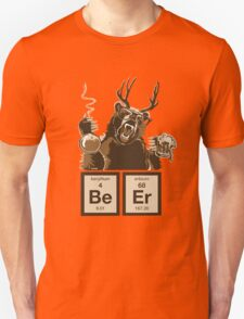 Chemistry bear discovered beer Unisex T-Shirt