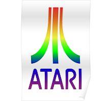 Atari Rainbow Poster