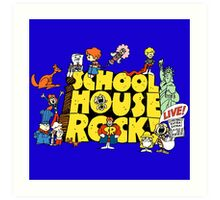 Schoolhouse Rock! Art Print