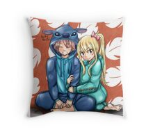 Lucy and Stitch Throw Pillow