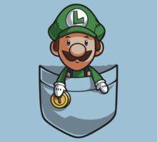 Pocket Luigi Kids Tee