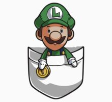 Pocket Luigi Kids Tee