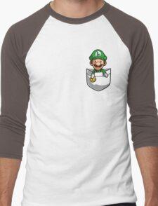 Pocket Luigi Men's Baseball ¾ T-Shirt