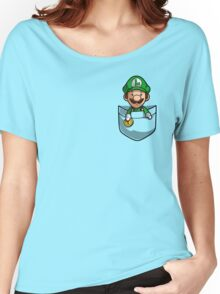 Pocket Luigi Women's Relaxed Fit T-Shirt