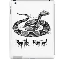 Reptile Hunter! iPad Case/Skin