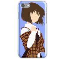 Minimalist Shiori Misaka iPhone Case/Skin