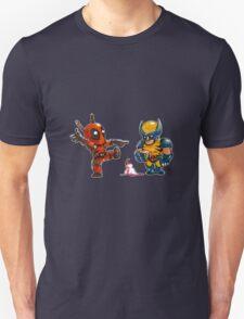 Little Wolverine drops his ice cream. (Parody) T-Shirt