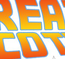 Great Scott! (Back To The Future) Sticker