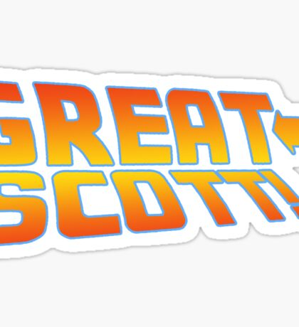 Great Scott! (Back To The Future) Sticker