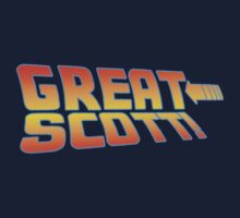 Great Scott! (Back To The Future) Kids Tee