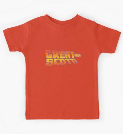 Great Scott! (Back To The Future) Kids Tee