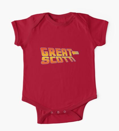 Great Scott! (Back To The Future) One Piece - Short Sleeve