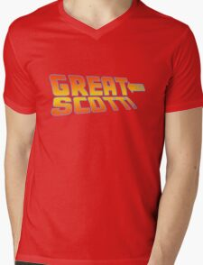 Great Scott! (Back To The Future) Mens V-Neck T-Shirt