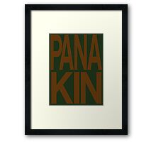 Panakin Skywalker Framed Print