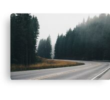 A Windy Road Canvas Print