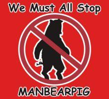 MANBEARPIG (South Park) (Al Gore) Kids Tee