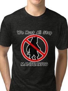 MANBEARPIG (South Park) (Al Gore) Tri-blend T-Shirt