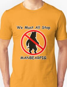 MANBEARPIG (South Park) (Al Gore) T-Shirt