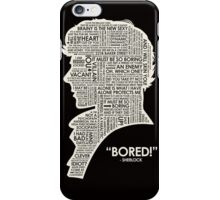 BORINGMAN iPhone Case/Skin