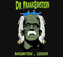 Dr. FrankEinstein - Imagination Good! Women's Fitted V-Neck T-Shirt