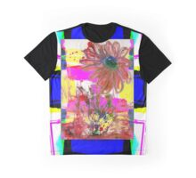 Abstract Flower Digital 2016 Graphic T-Shirt