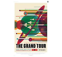The Grand Tour - NASA Travel Poster Photographic Print