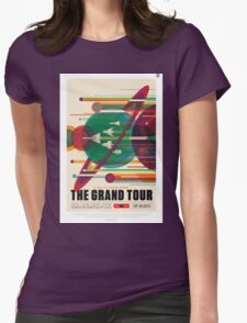 The Grand Tour - NASA Travel Poster Womens Fitted T-Shirt