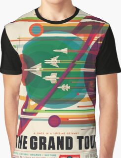 The Grand Tour - NASA Travel Poster Graphic T-Shirt
