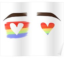 Love Wins Eyebrows Poster