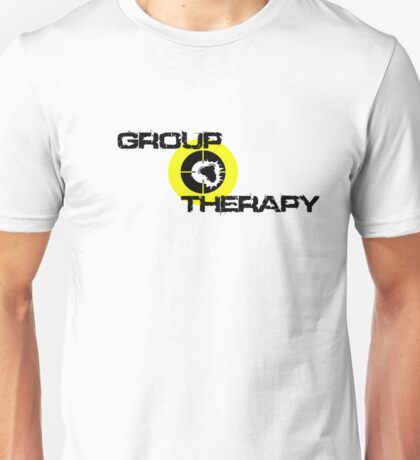 Group Therapy - black text  Unisex T-Shirt
